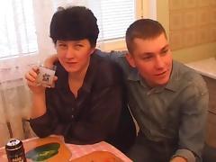 Gangbang wihw Russian milf