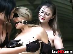 Leather Lesbian BDSM