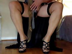 A clip of Michelle in Stockings for Madam and me. Part 01