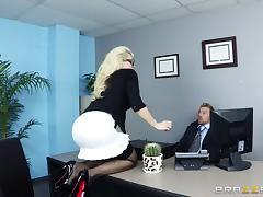Office, Anal, Ass, Big Tits, Blowjob, Boss