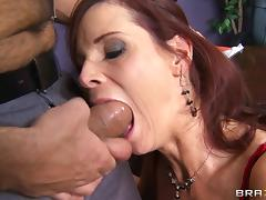 MILF, Blowjob, Boss, Close Up, Couple, Deepthroat