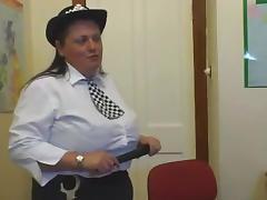 BBW Police. british bbw