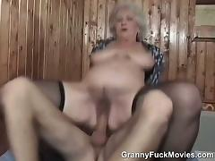 Granny, Amateur, Blonde, Doggystyle, Granny, Hardcore