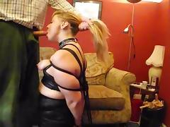 Bondage, BDSM, Blowjob, Bondage, Bound, Sucking