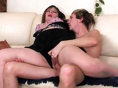 Mom and Boy, Angry, Babe, Big Cock, Big Tits, Boobs