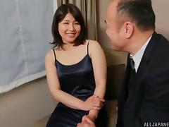 Bed, Asian, Bed, Blowjob, Bra, Couple