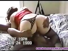 Cuckold Secrets - my wife sucking black bull fo her B-day