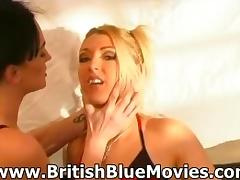 Donna Marie and Tequila Woods - British Lesbians in a Bar
