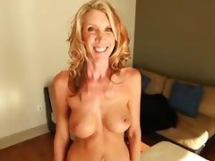 Slender Mature Amateur MILF Makes Porn Video