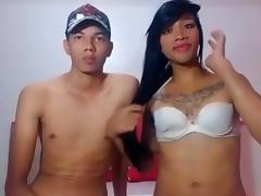 Teen asian couple webcam sex