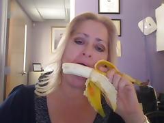 Banana, Amateur, Banana, Mature, MILF