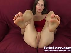 Lelu Love-Feet In Your Face While You Creampie Me