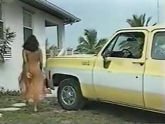 Slut with huge tits is masturbating