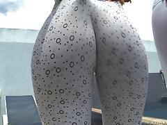 Big Ass, Babe, Big Ass, Close Up, Clothed, Public