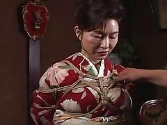 Asian Granny, Asian, BDSM, Bound, Mature, Old