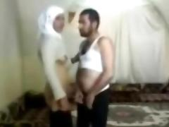 young hijab arab