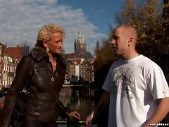 Amsterdam, Amateur, Bitch, Blowjob, Bra, Close Up