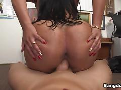 Sofia Char in Latina escort tries porn Video