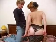 Mom and Boy, 18 19 Teens, Big Tits, Boobs, Doggystyle, Fucking