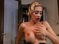 Boots, Anal, Assfucking, Big Tits, Blonde, Blowjob