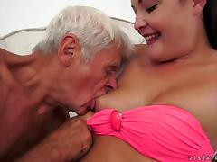 Dolly Diore is ready to have her pussy creampied by experienced dick