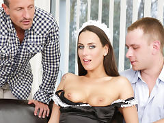 Mea Melone, Thomas Lee, George Uhl in DP The Nanny With Me #04, Scene #04