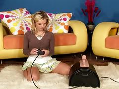 Sybian, Cute, HD, Machine, Riding, Sybian