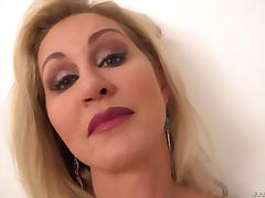 POV milf pounding with a curvaceous slut taking a facial