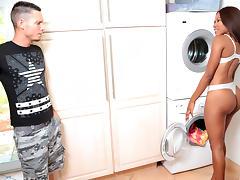 Tyler Steel & Indigo Vanity in Cleaning booty - RoundAndBrown