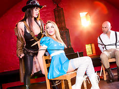 Franceska Jaimes, Mia Malkova & Christian Clay  in League of Frankenstein - Episode 2 - Van Helsing