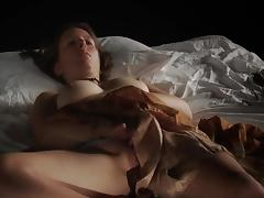Girl masturbating -April C