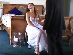 Bride, Anal, Bride, Brunette, Cute, Fucking