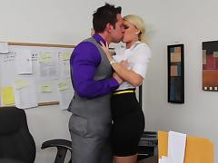 Office, Blonde, Hardcore, Office, Secretary