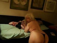 Italian tranny and her big ass