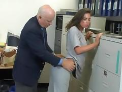 Office, Blowjob, Mature, Office