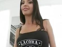 Ultra skinny russian anal