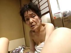 Asian, Asian, Granny, Mature, Old, Grandma