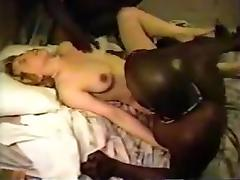 Black Granny, Amateur, Big Cock, Black, Creampie, Cum