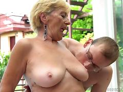 Granny, Granny, Mature, Pool, Pussy, Experienced