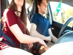 Boyfriend, Amateur, Blowjob, Boyfriend, Car, Friend