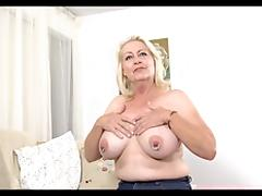 Casting, Audition, Blonde, Casting, Mature, Piercing