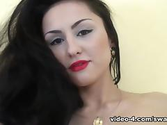 Barbora is Playing With Her Perky Titties! - SwankPass