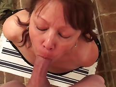 Asian Granny, Amateur, Asian, Blowjob, Fucking, Mature