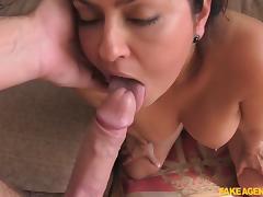 Mariska in Lady wants to do European porn - FakeAgentUk