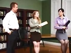 Nice Lady give Man Spanking in the Room (part1)