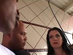 Outstanding Interracial Anal sex scene