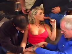 Vicky Vette's In THe Mood For a Gangbang