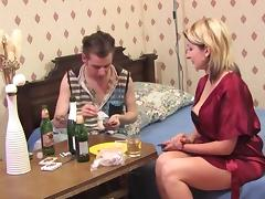 Hot milf and her younger lover 301
