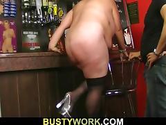 Bar, Bar, BBW, Big Tits, Boobs, Doggystyle