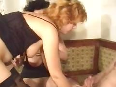 very hot 3some action